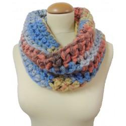 Cuello iniciación al crochet
