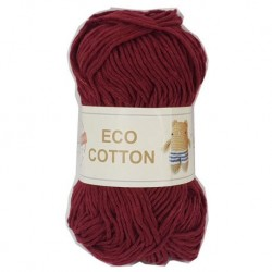 Eco Cotton Granate